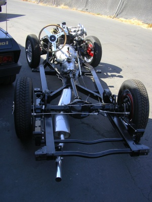 Triumph TR3 Chassis for Sale